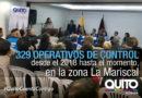 En el 2018, 463 sancionados y 69 establecimientos clausurados en la Mariscal