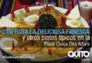 Feria gastronómica sabores tradicionales de la Fanesca