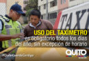 La AMT realiza controles al servicio de taxis