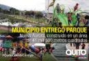Alcalde Rodas: 'Nueva Aurora es el parque que los habitantes del sur se merecían'