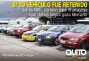 ¿Sabe usted cómo liberar un vehículo de los patios de retención vehicular?