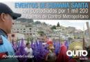 Cuerpo de Agentes de Control implementa operativo por Semana Santa 2019