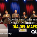 Sesión Solemne en conmemoración del día del Maestro