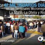 Más de 3 millones de usuarios movilizados desde las Terminales Microrregionales
