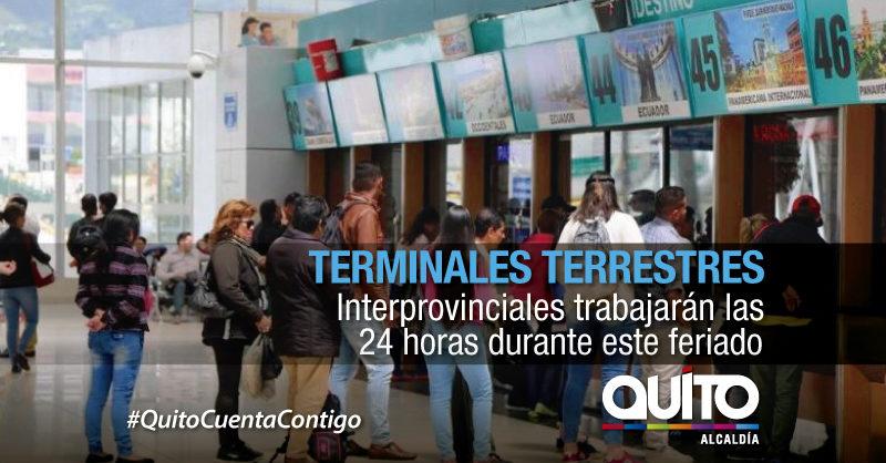 Más de 300 mil usuarios se movilizarán desde las terminales por feriado de Semana Santa