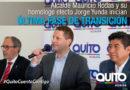 Inició etapa final del proceso de transición de la alcaldía de Quito
