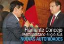 Santiago Guarderas es el vicealcalde de la ciudad