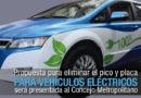 Alcalde Jorge Yunda analiza eliminar el pico y placa para vehículos eléctricos