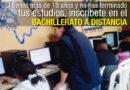 Iniciarán inscripciones para el Bachillerato a Distancia  con Apoyo Tecnológico
