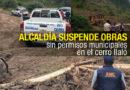La AMC suspendió obras efectuadas sin permiso municipal en el cerro Ilaló