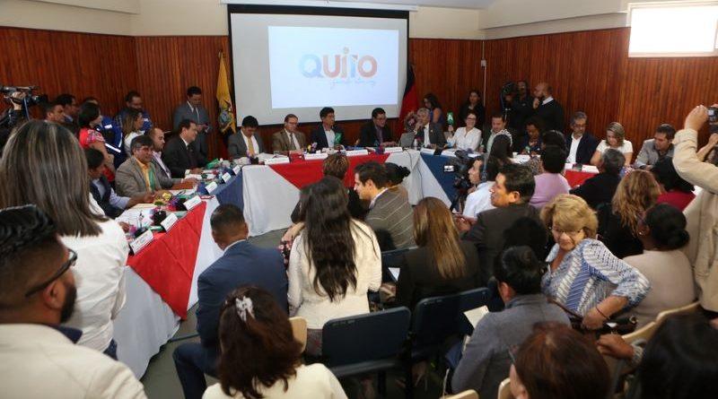 Sesión No. 6 del Concejo Metropolitano se hizo en Quitumbe