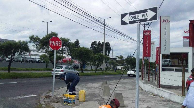 337 señales se instalaron en mayo para reforzar la seguridad vial