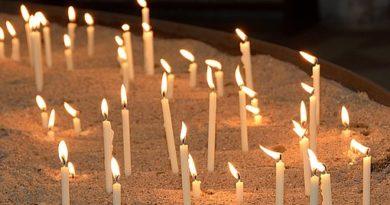 III Vigilia por las y los sobrevivientes de la trata de personas Quito 2019