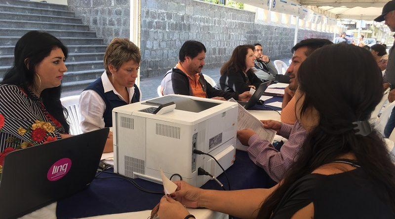 Municipio Móvil llega a Calderón sector Marianitas