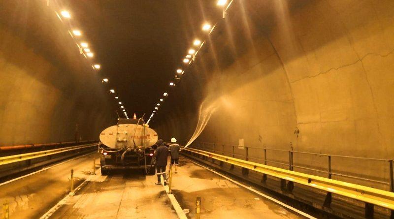 Mantenimiento del túnel Guayasamín