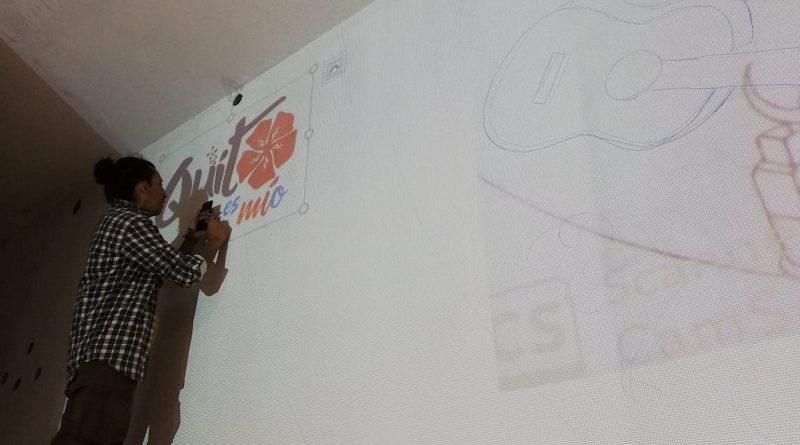 Murales artísticos por la inclusión en el Terminal Quitumbe y Yaguachi