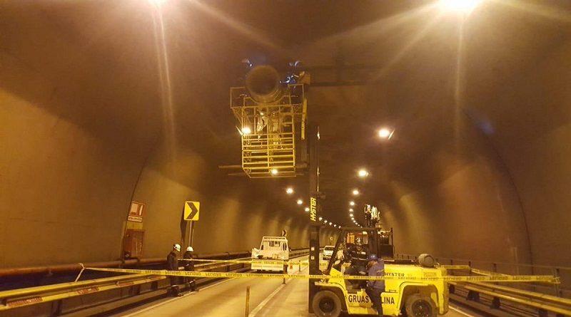 Mantenimiento de los túneles del Centro Histórico