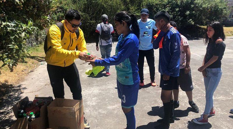 Habitantes de Calle culminan campeonato vacacional de fútbol