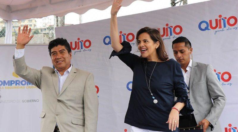 Gobierno Nacional y el Municipio firmaron el convenio 'Unidos por un Quito Seguro'