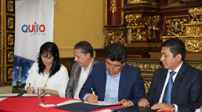 Municipio firmó convenio de cooperación con Metro Medellín y Universidad Central