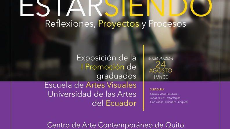 Estar siendo, exposición de la Universidad de las Artes visita el CAC