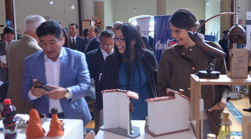 Feria de emprendimientos se realizó en ConQuito