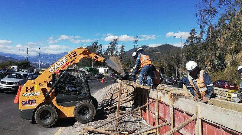 Cuatro proyectos viales se ejecutan actualmente en Quito
