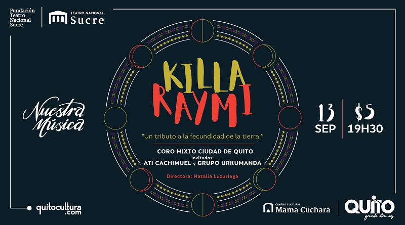 Concierto Killa Raymi