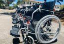 Hogar de Vida 1 recibe donación de sillas de ruedas