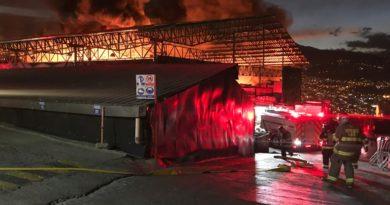 Urgente: Calidad del Aire afectada por el incendio estructural Av. De los aceitunos y el Juncal