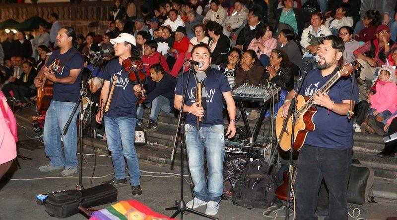 Arte plástico, música y danza tradicional en Quitunes