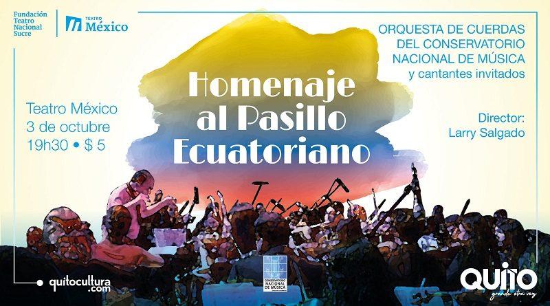 TEATRO MÉXICO HOMENAJE PASILLO