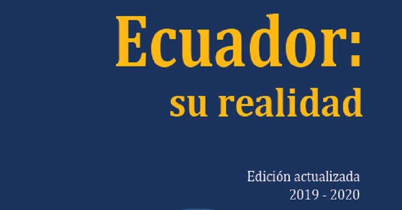Portada libro Ecuador: su realidad 2019-2020