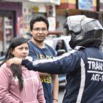 Trabajo de los agentes civiles de tránsito es permanente