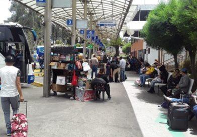 Se normaliza el transporte interprovincial e interparroquial en las terminales