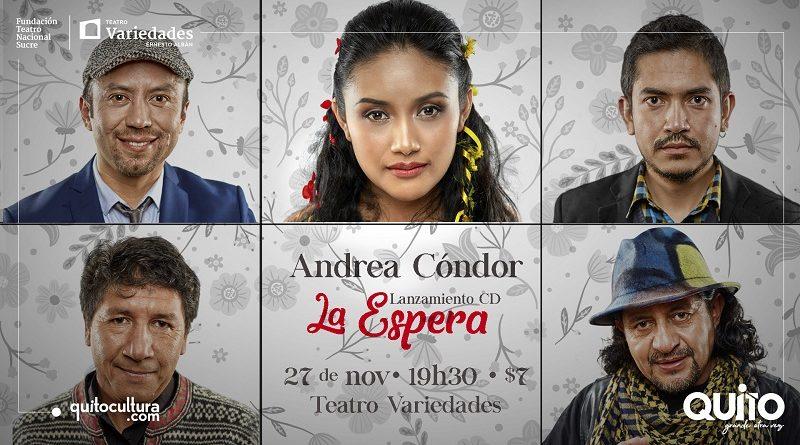 ANDREA CONDOR LA ESPERA