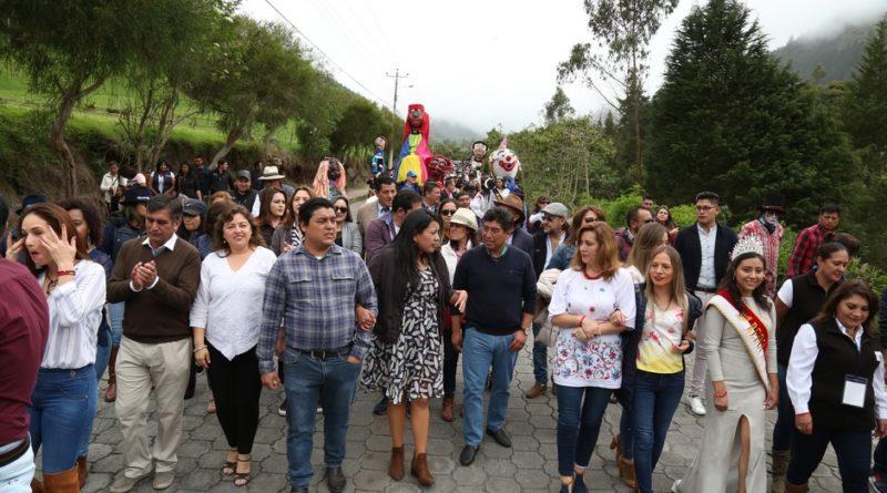 Nono se llenó de color y alegría en el 'XXVII Encuentro de la Parroquias Rurales'