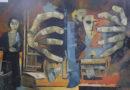Nueva exposición pictórica se exhibe en el hall del Palacio Municipal
