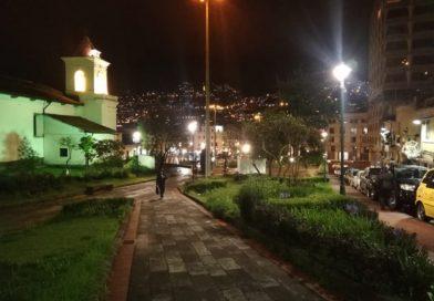 El Centro Histórico recibe iluminación led