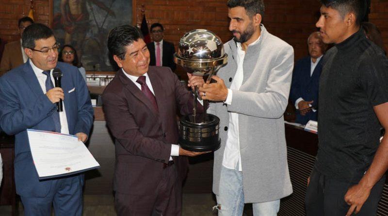 Independiente del Valle recibió reconocimiento del Concejo Metropolitano
