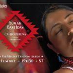 Canto puruwá legado de los abuelos y abuelas en la voz de Sumak Bastidas
