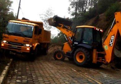Municipio atendió emergencia por deslizamiento en Av. De los Conquistadores