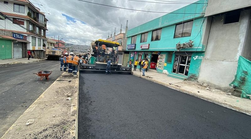 Repavimentación Calle Juan Bautista