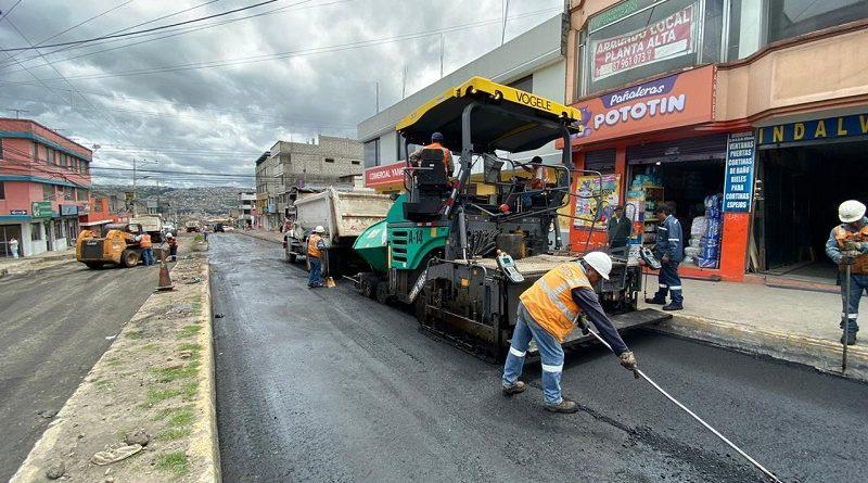 Calle Juan Bautista Aguirre será repavimentada este 10 de diciembre