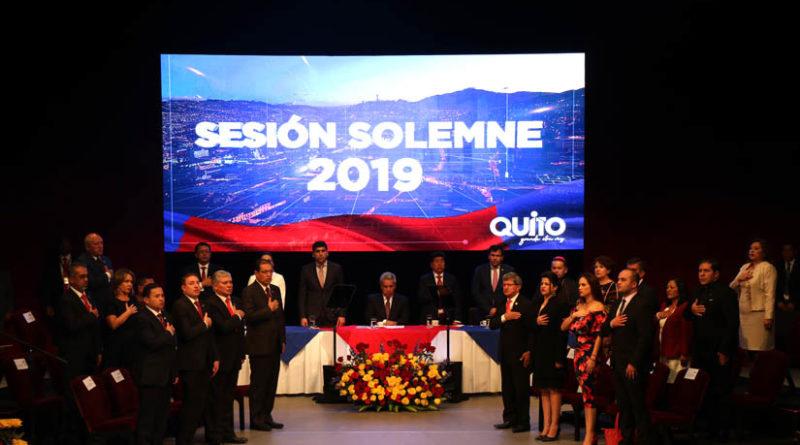 Sesión Solemne por los 485 años de Fundación de Quito