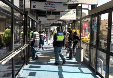 Continúan los operativos de seguridad en el Sistema de Transporte Municipal