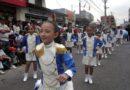 En La Delicia se realizó desfile cívico