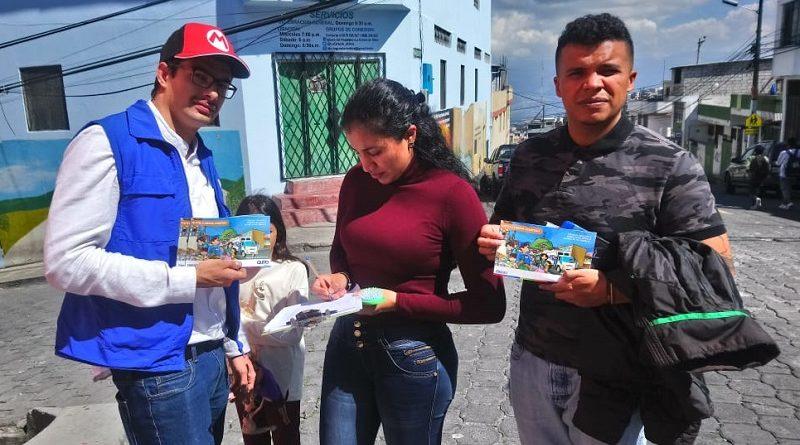 Socialización en barrios de la ciudad en manejo residuos