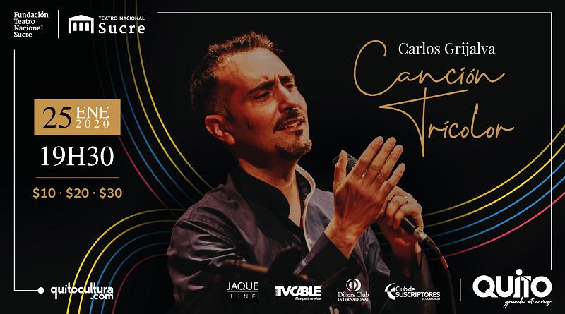Carlos Grijalva concierto