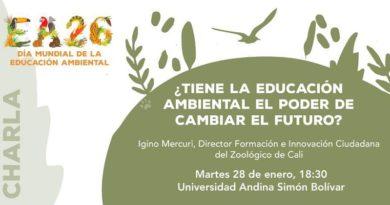 Charlas y talleres para reflexionar sobre la educación ambiental y su aporte